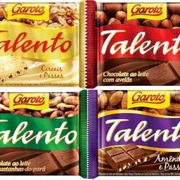 Chocolate Talento Castanha do Pará