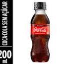 Coca-Cola sem Açúcar - 200ml