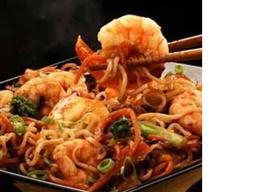 Teppanyaki de Frutos do Mar