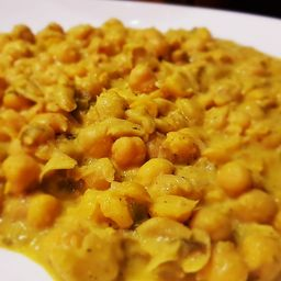 Grão-de-Bico ao Curry