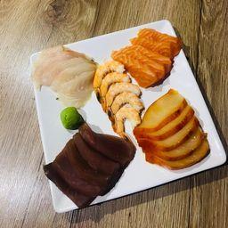 Sashimi Mix 5 Peixes - 25 Unidades