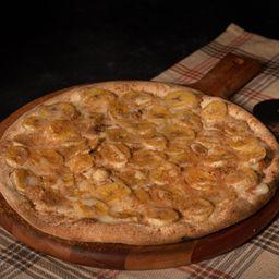 Pizza de Banana e Leite e Condensado