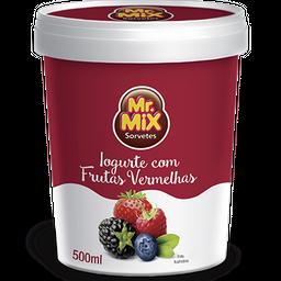 Sorvete de Iogurte com Frutas Vermelhas 500ml