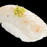 Sushis de Peixe Branco