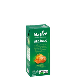 Néctar de Tangerina Orgânico 200ml