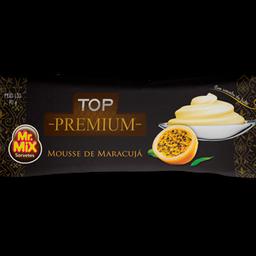 Picolé de Mousse de Maracujá