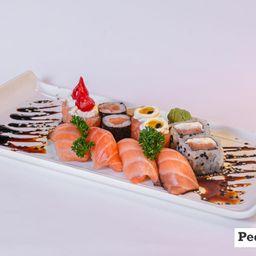 1 a - combinado sushi 12 peças