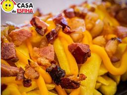 Porção de Batata, Cheddar e Bacon