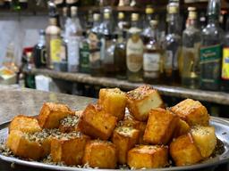 Porção de queijo coalho