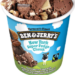 Sorvete Ben&jerry's New York Super Fudge Chunk 458ml