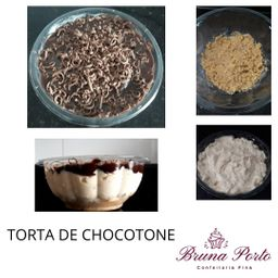 Torta de Chocotone 450g