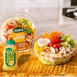 Combo Salada de Frango e Suco