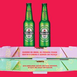 Combo 2 Pizzas e 2 Heineken 330ml