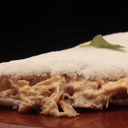 Tapioca de frango com requeijão