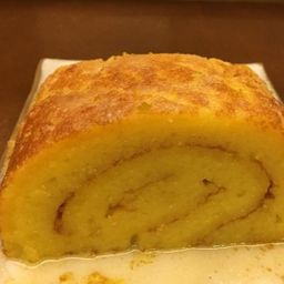Torta de Rocambole de Laranja