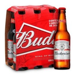 Kit Budweiser - 6 Unidades