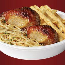 Marmitex de churrasco (frango)