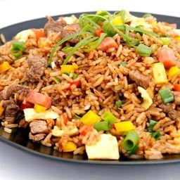 Arroz Chaufa de Carne Bovina