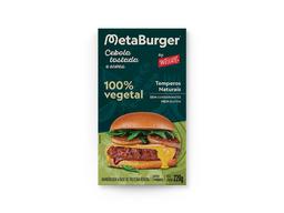 Burger Vegetal - Cebola Tostada e Ervas Wessel 220g (2 unidades)
