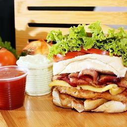 Peito Salada Bacon