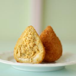 Coxinha de Frango com Cream Cheese