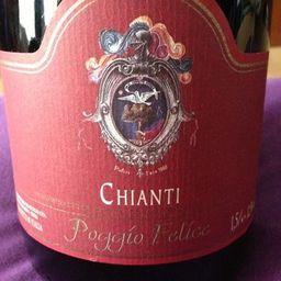 Vinho Poggio Felíce - Chianti