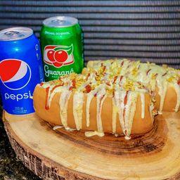 Combo 2 Hot Dog + 2 Refrigerantes 350ml