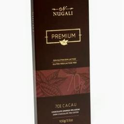 Chocolates nugalli 70% cacau 100g