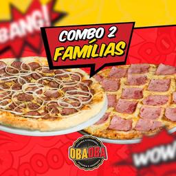 Combo 2 Pizzas Família