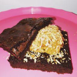 Brownie Doce de Leite e Coco Queimado