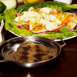 Prato 11 - Filé Mignon com Salada Mista