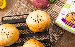 Pão De Batata Doce Com Brócolis E Queijo - 1 Unidade 110g