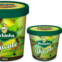 Rochinha abacate pote