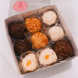 Caixa de doces sortidos - 9 unidades