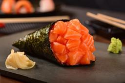 2x1 no Temaki de salmão