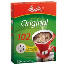 Filtro de Café Melitta - 30 Unidades