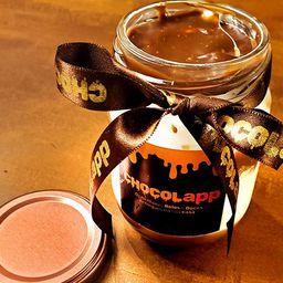 Bolo de Pote Nutella com Ninho e Morango