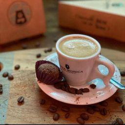 Café com Brigadeiro Vegano