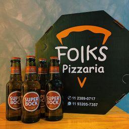 Super Bock + Pizza Grande