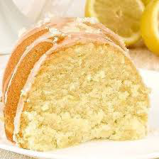 Bolo de Limão Siciliano - Fatia