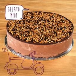 Torta de Mousse de Nutella Diet - 12 Fatias