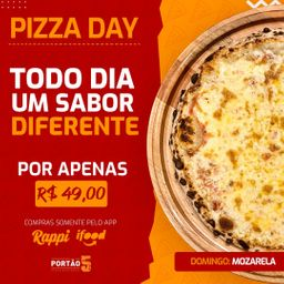 Pizza Day - Mozarela