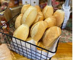 Pacote de Pão Francês - 05 Pães