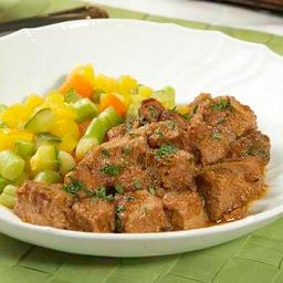 Filet Mignon Suíno e Legumes Salteados 280g