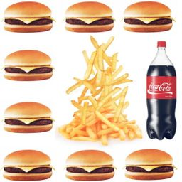 Combo X-burger Max