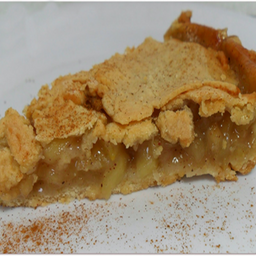 Torta de maçã (fria) original american apple pie