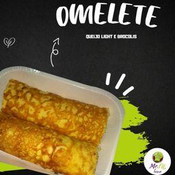 Omelete de Queijo com Brócolis (250g).