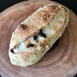 Pão de Aveia e Passas