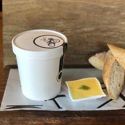 Sopa de Inhame com Especiarias