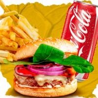 Combo Classic Salad Burger